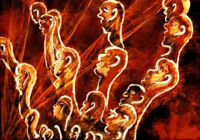 cavemen scratch exodus, Apophysis fractal collaboration