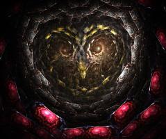 Apophysis bejeweled owl